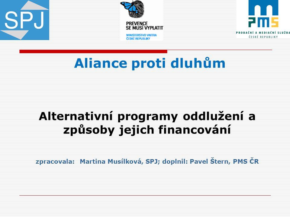  Aliance proti dluhům vznikla jako odborná platforma s cílem snížit a potenciálně eliminovat rizika spojená s předlužeností, která způsobují následně vážné společenské problémy.