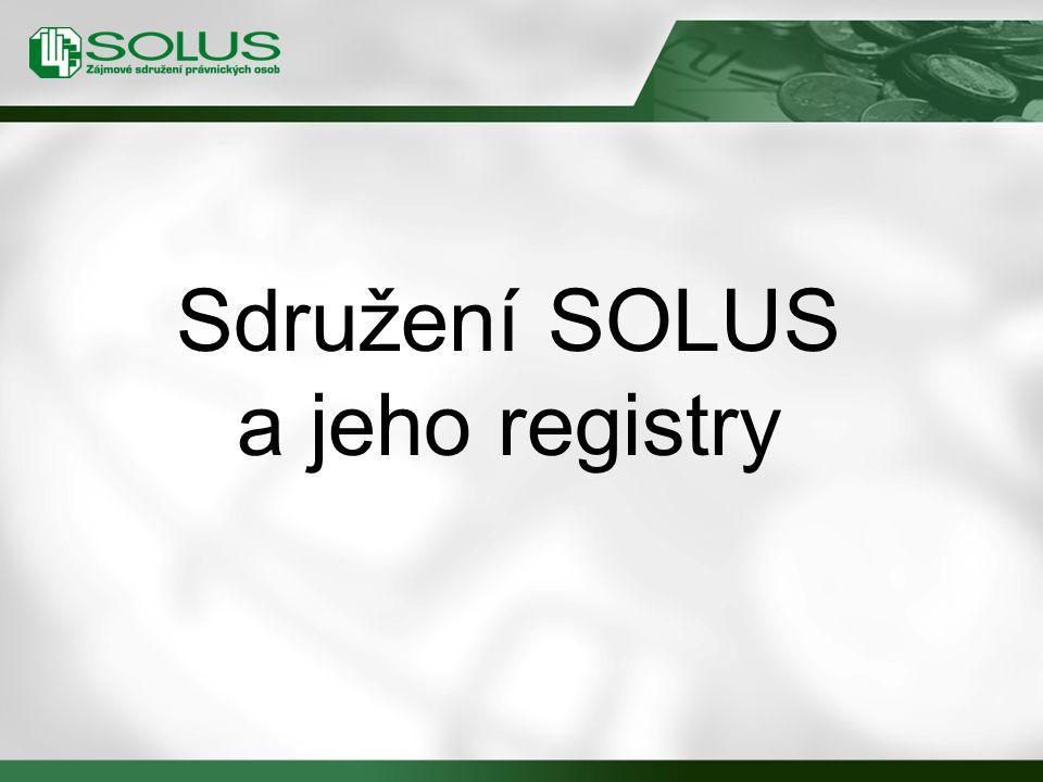 Sdružení SOLUS a jeho registry