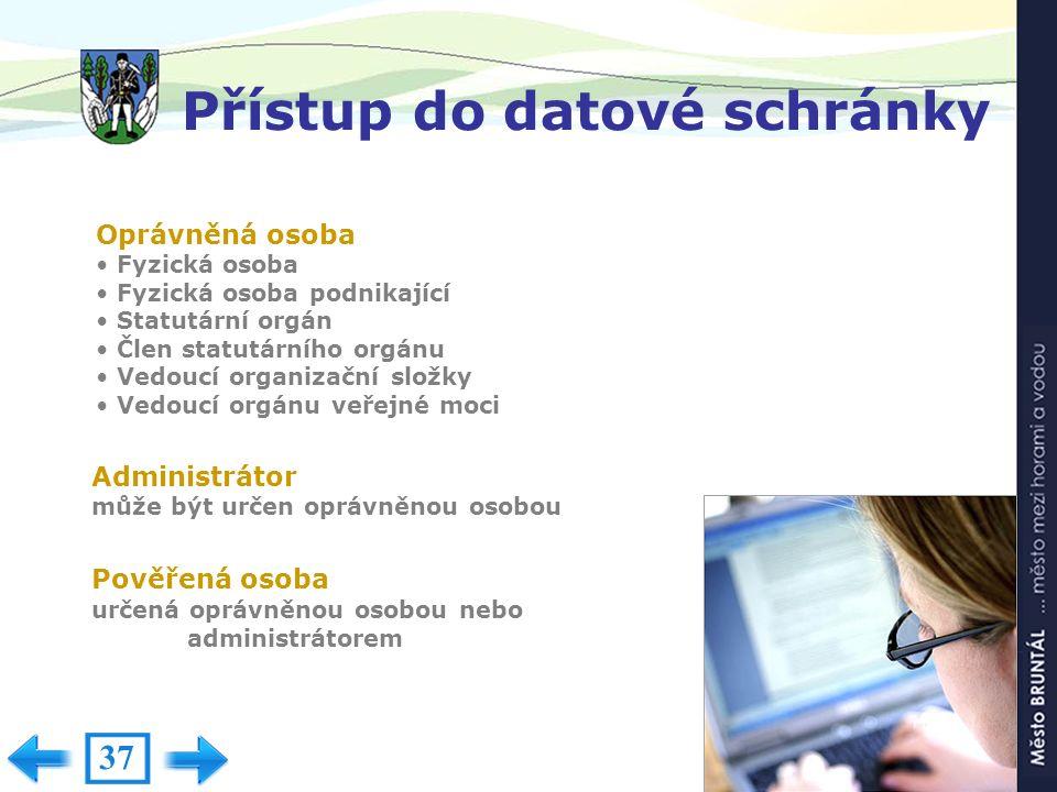 Testovací prostředí ISDS www.czebox.cz 36
