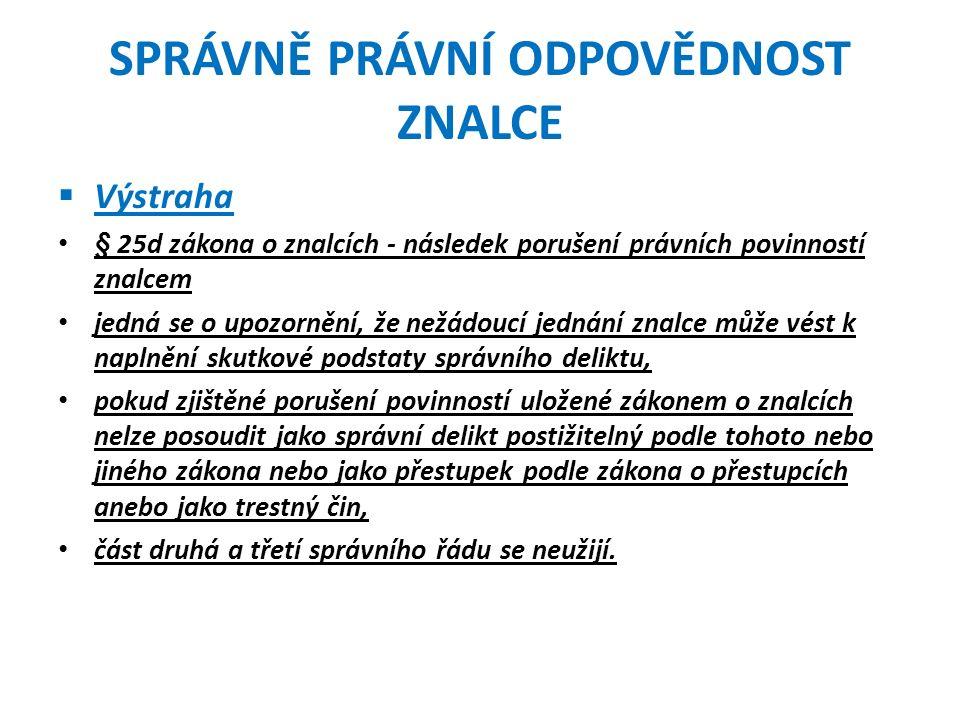 KOMISE PRO ZNALECTVÍ Návrh Ministerstva spravedlnostiSoučasný stav Ministerstvo spravedlnosti ČR.