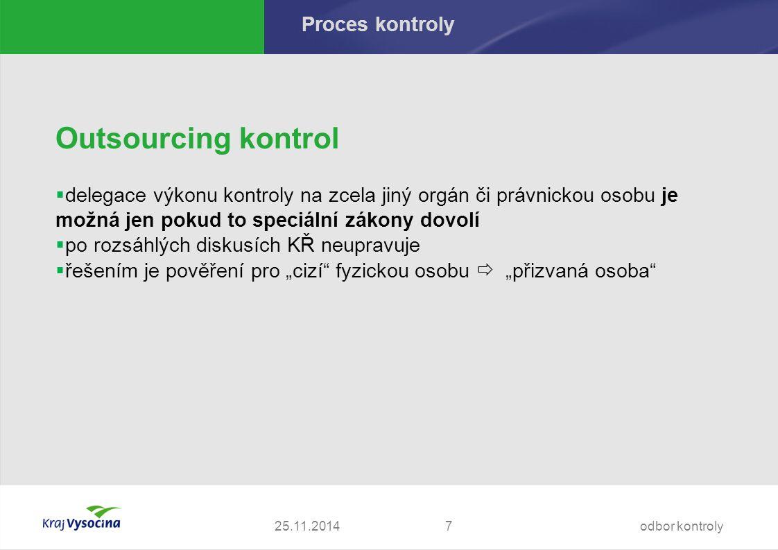 Proces kontroly - námitky Vyřizování námitek - § 14 KŘ  vyhoví-li vedoucí k.
