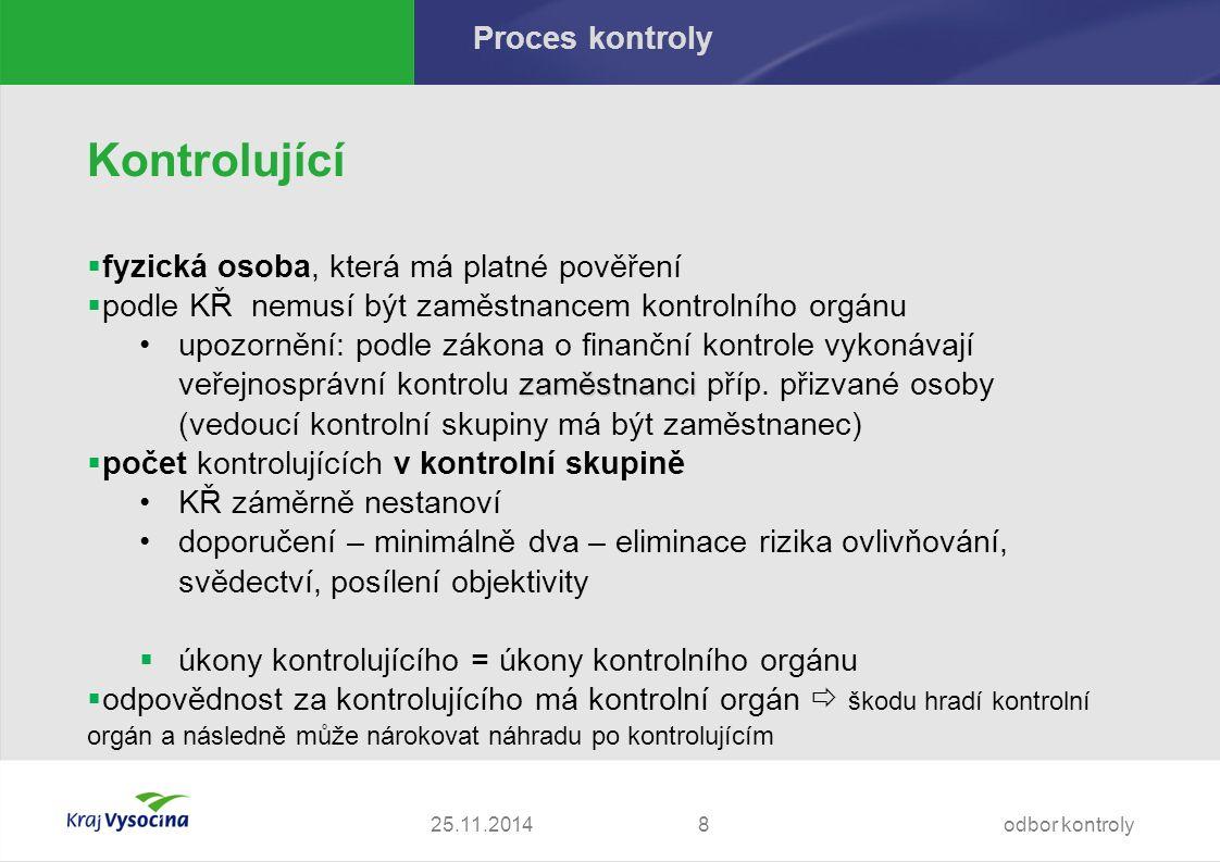 Proces kontroly – práva a povinnosti Povinnost povinné osoby - § 10 odst.