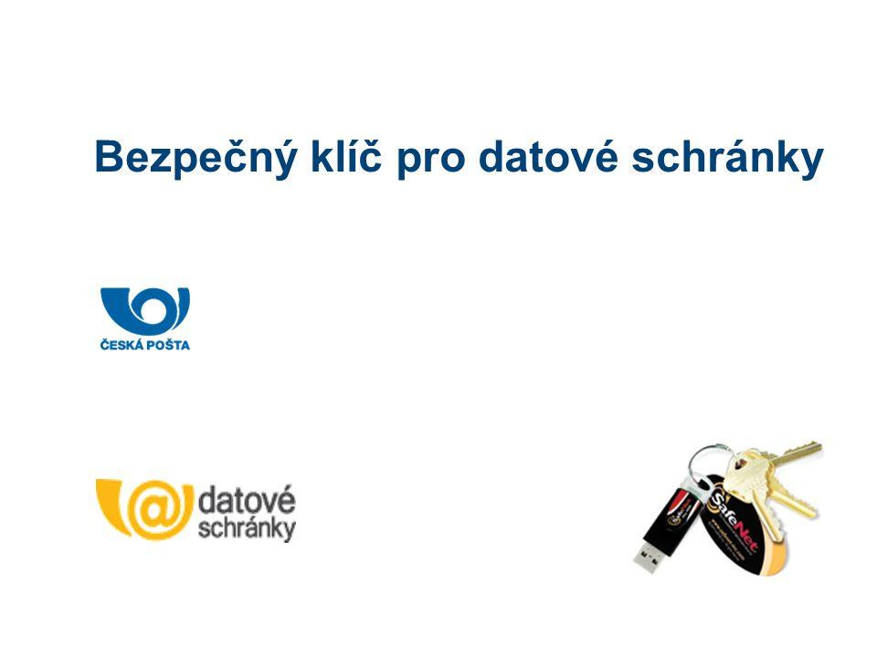 Bezpečný klíč pro datové schránky
