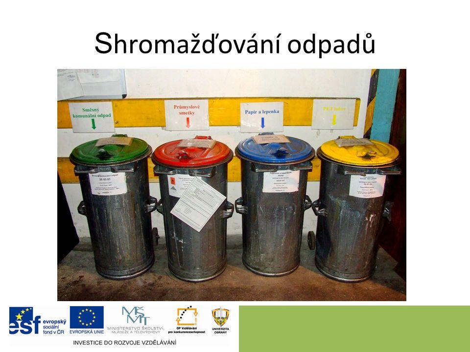 S hromažďování odpadů
