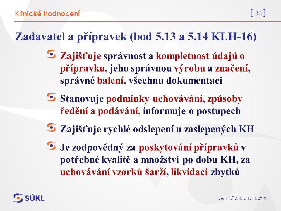 [ 33 ] Seminář 8. 4. a 16. 4.