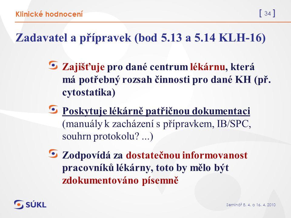 [ 34 ] Seminář 8. 4. a 16. 4.