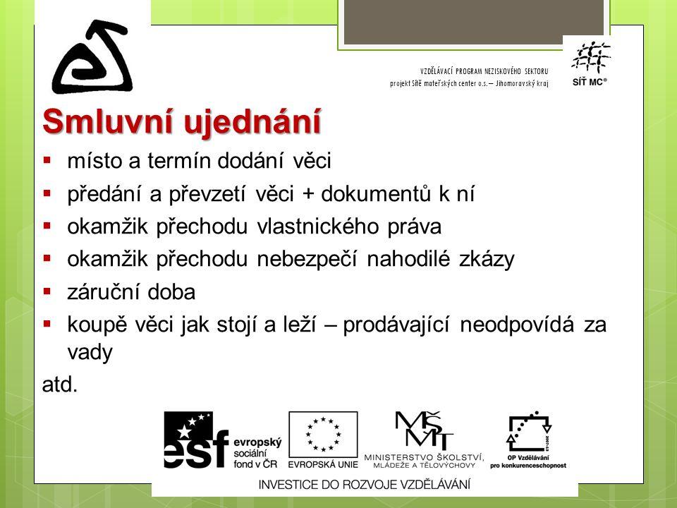 VZDĚLÁVACÍ PROGRAM NEZISKOVÉHO SEKTORU projekt Sítě mateřských center o.s.