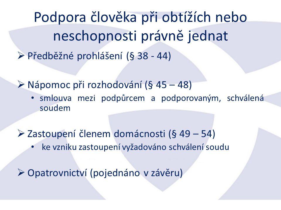 Orgány PO (§ 151 až 160) zákon, popř.
