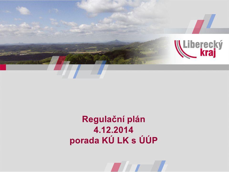Regulační plán 4.12.2014 porada KÚ LK s ÚÚP