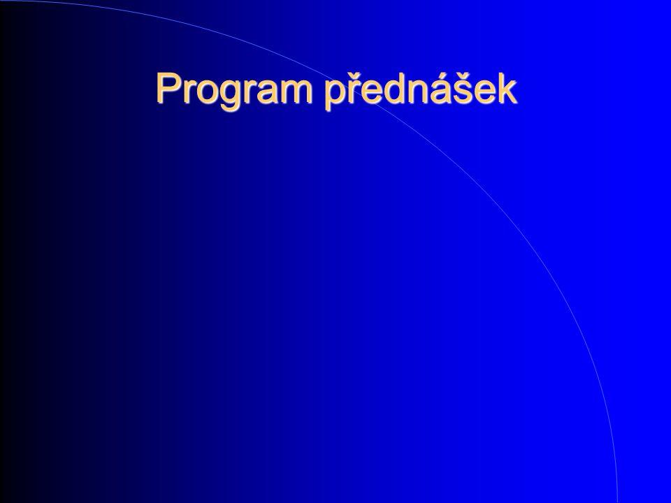Program přednášek