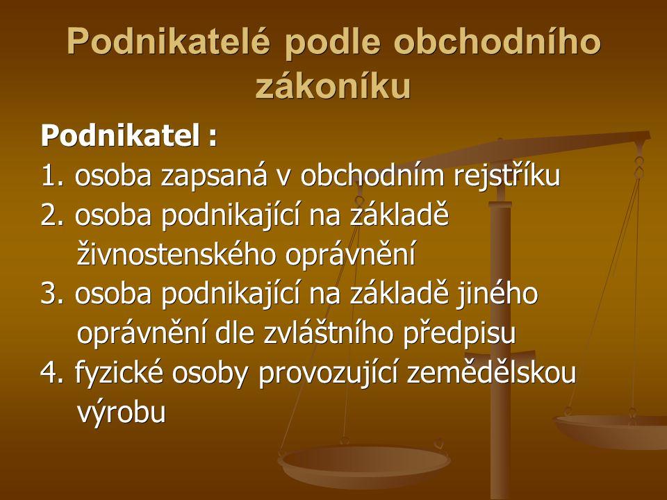 Zdroje: www.ceed.cz www.ceed.cz Obchodní zákoník Obchodní zákoník http://www.elektropodnikpraha.cz http://www.elektropodnikpraha.cz http://www.griper.cz http://www.griper.cz http://media.novinky.cz/659/56599-top_foto2- lwahd.jpg http://media.novinky.cz/659/56599-top_foto2- lwahd.jpg http://www.globalcontrol.cz/spolecnost/ruce.jpg http://www.globalcontrol.cz/spolecnost/ruce.jpg http://www.czso.cz/csu/2008edicniplan.nsf/p/140 9-08 http://www.czso.cz/csu/2008edicniplan.nsf/p/140 9-08