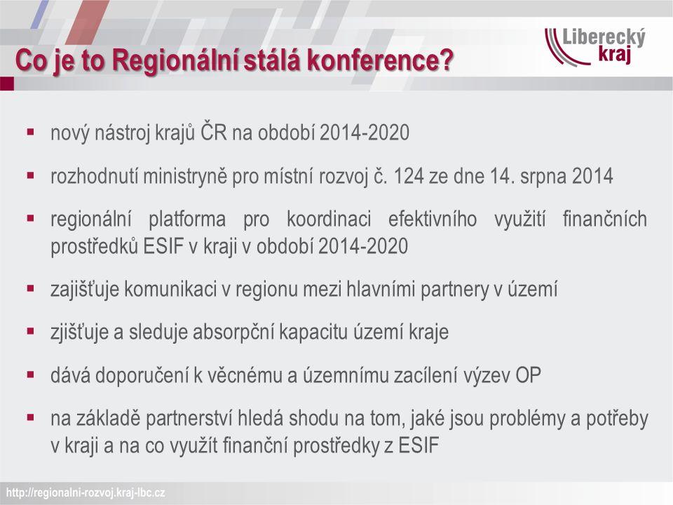 Co je to Regionální stálá konference.