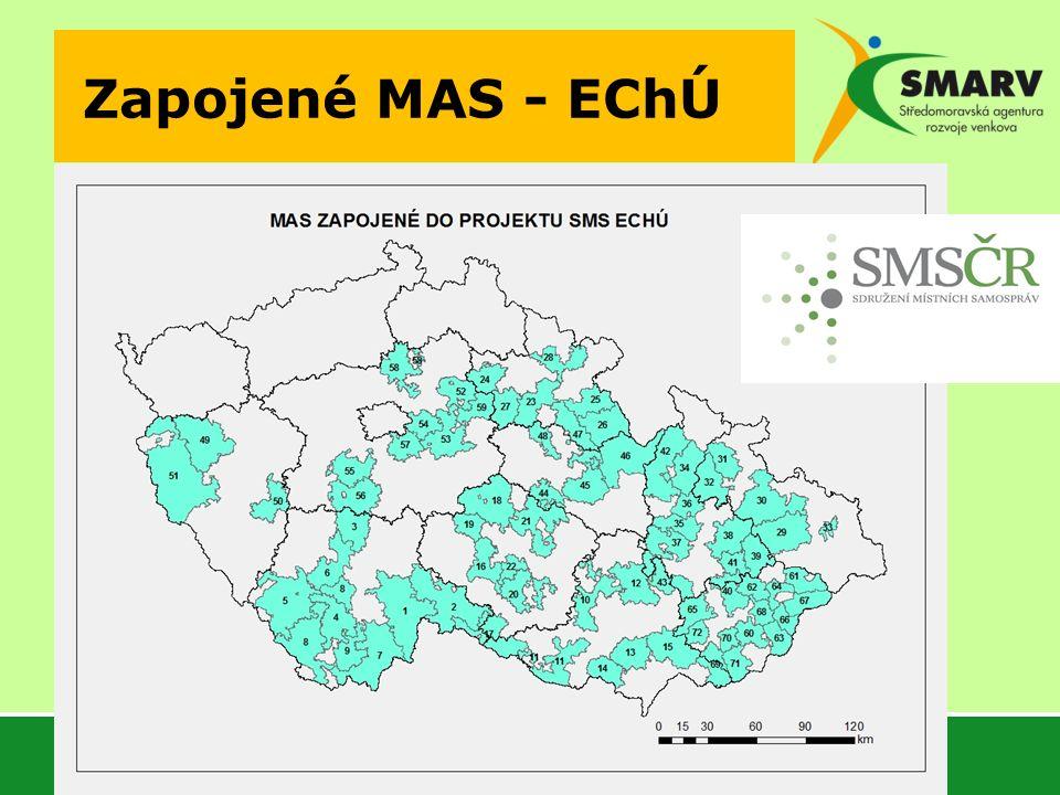 Zapojené MAS - EChÚ