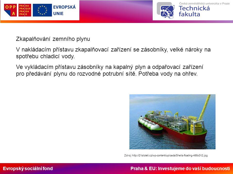 Evropský sociální fond Praha & EU: Investujeme do vaší budoucnosti Zdroj: http://21stoleti.cz/wp-content/uploads/Shells-floating-486x312.jpg Zkapalňov