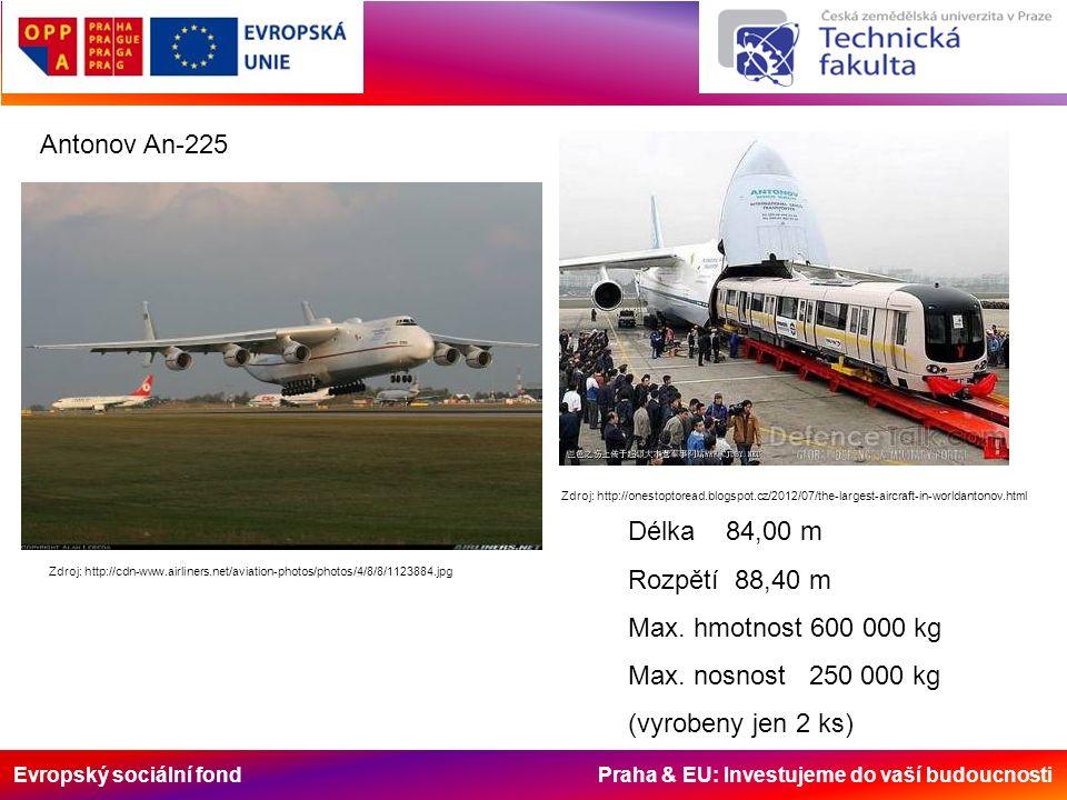 Evropský sociální fond Praha & EU: Investujeme do vaší budoucnosti Zdroj: http://cdn-www.airliners.net/aviation-photos/photos/4/8/8/1123884.jpg Antono