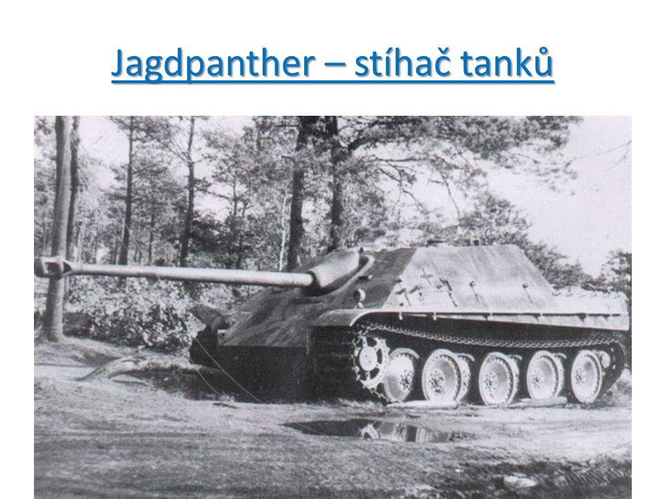 Jagdpanther – stíhač tanků