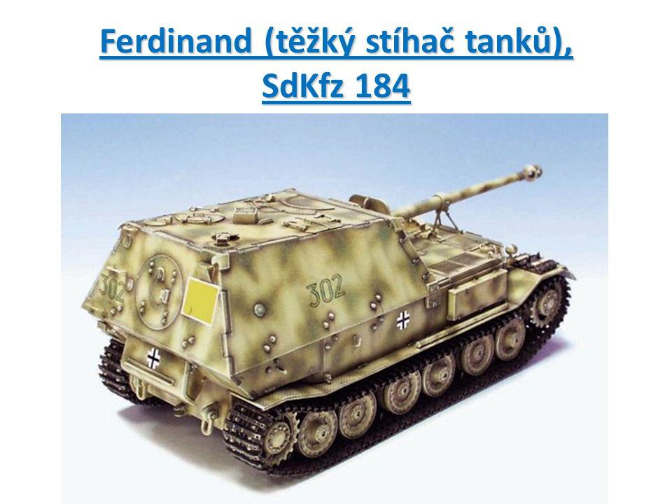 Ferdinand (těžký stíhač tanků), SdKfz 184