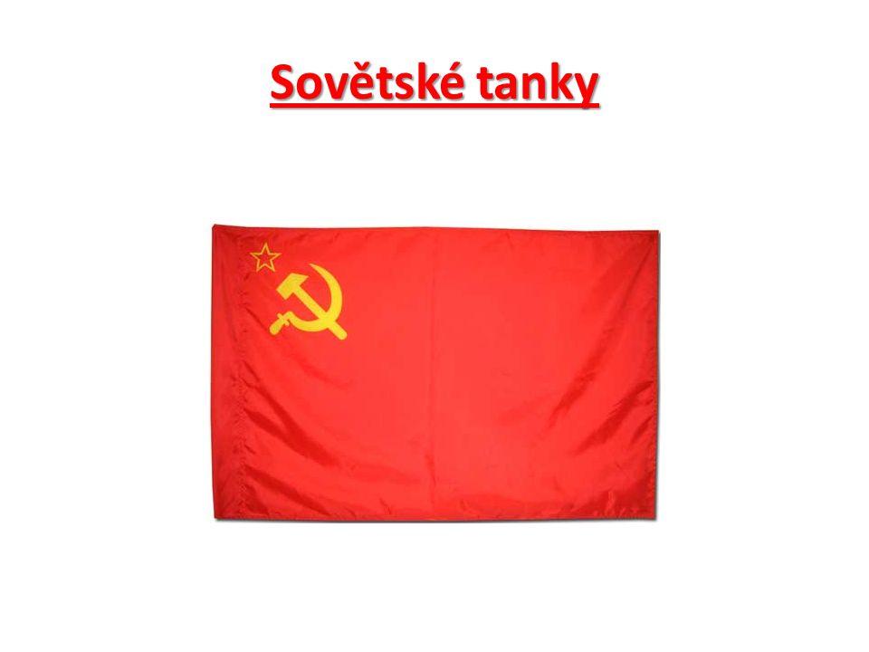 Sovětské tanky