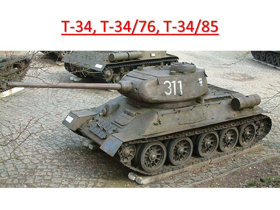 T-34, T-34/76, T-34/85