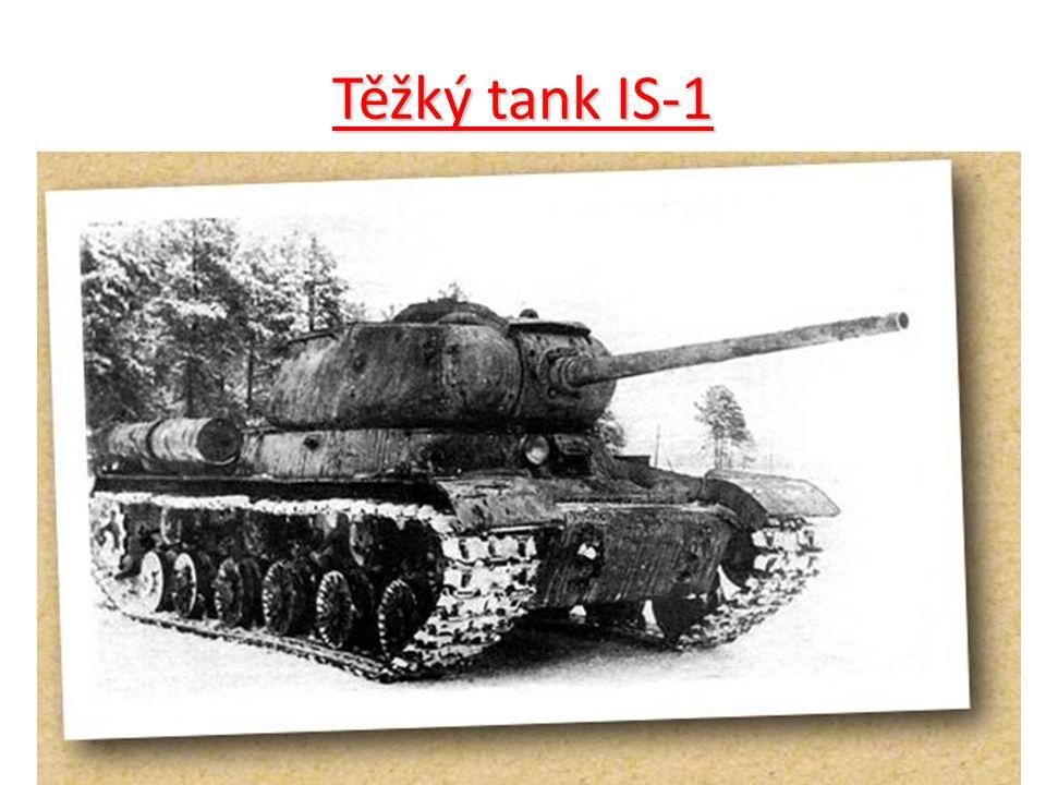 Těžký tank IS-1