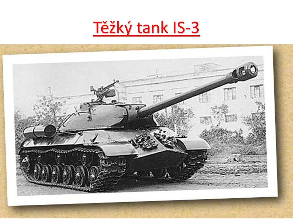 Těžký tank IS-3