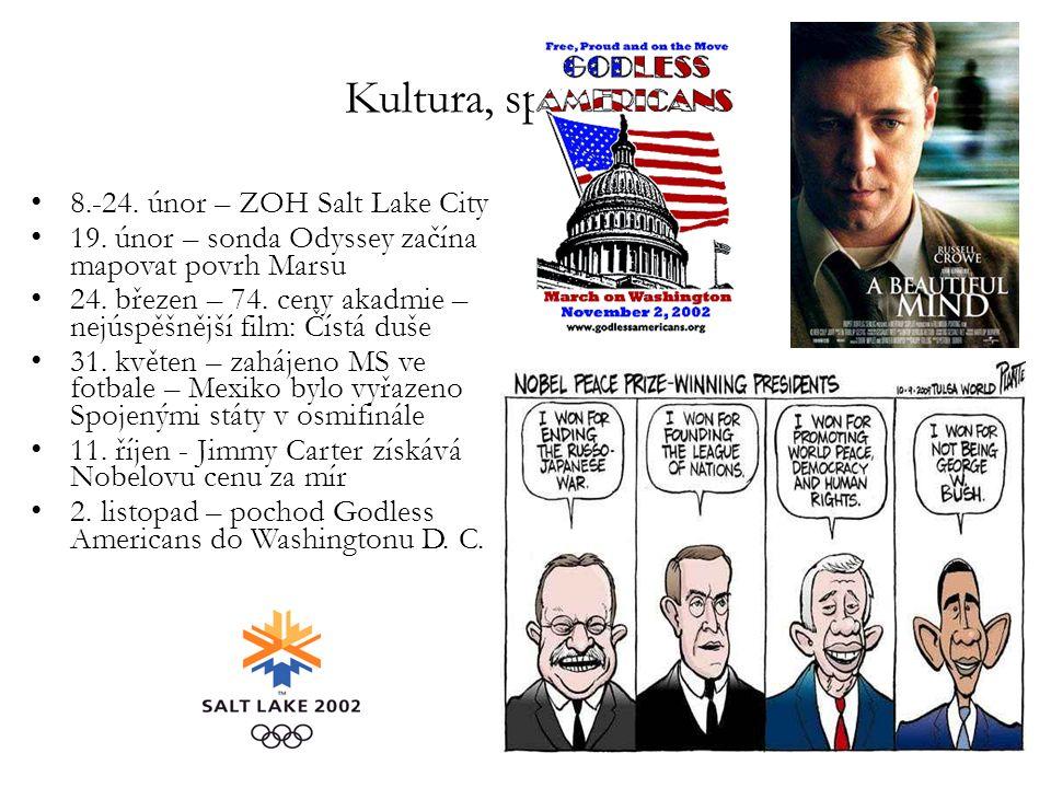 Kultura, sport, věda 8.-24. únor – ZOH Salt Lake City 19.