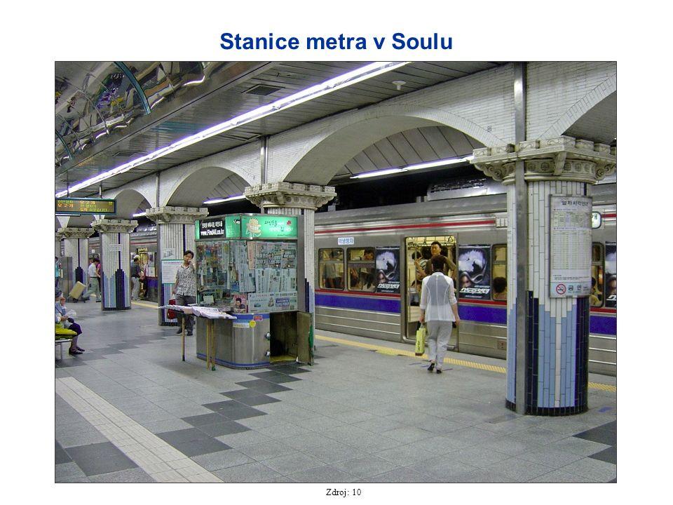 Zdroj: 10 Stanice metra v Soulu