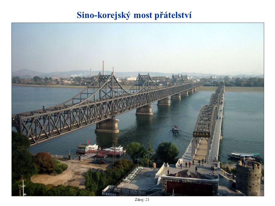 Sino-korejský most přátelství Zdroj: 23