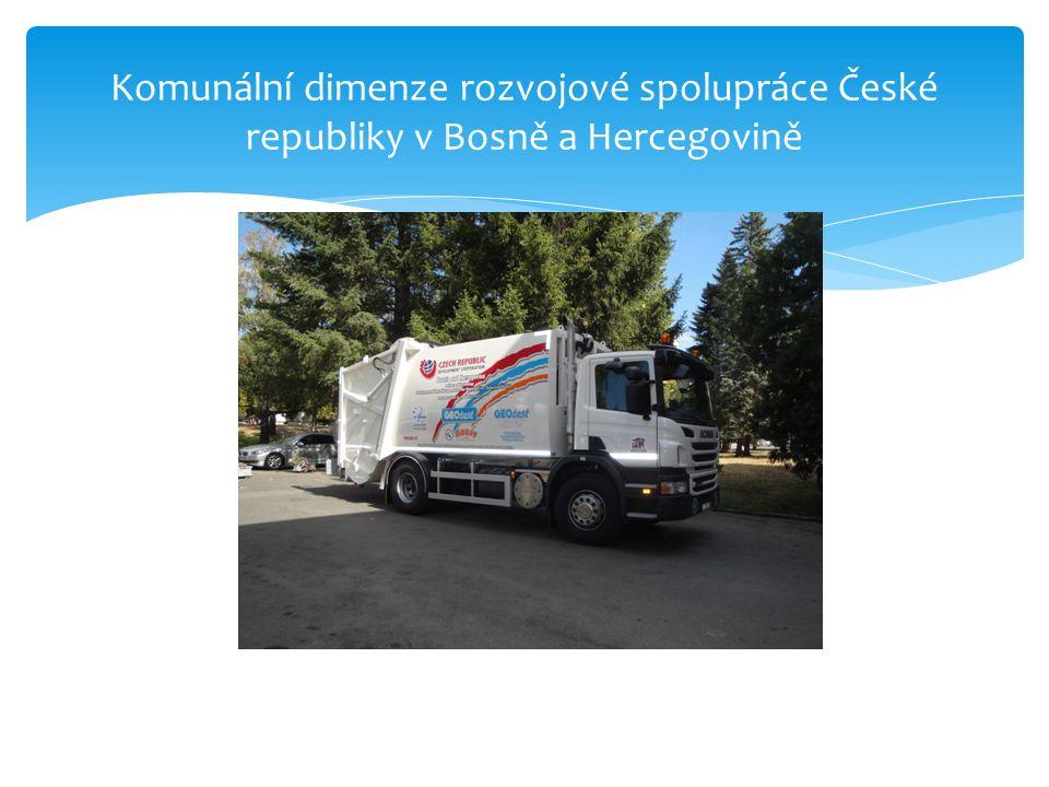 Komunální dimenze rozvojové spolupráce České republiky v Bosně a Hercegovině