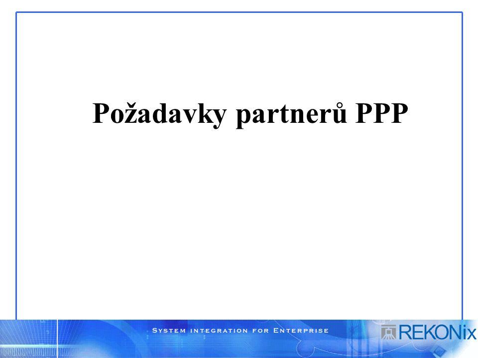 Požadavky partnerů PPP