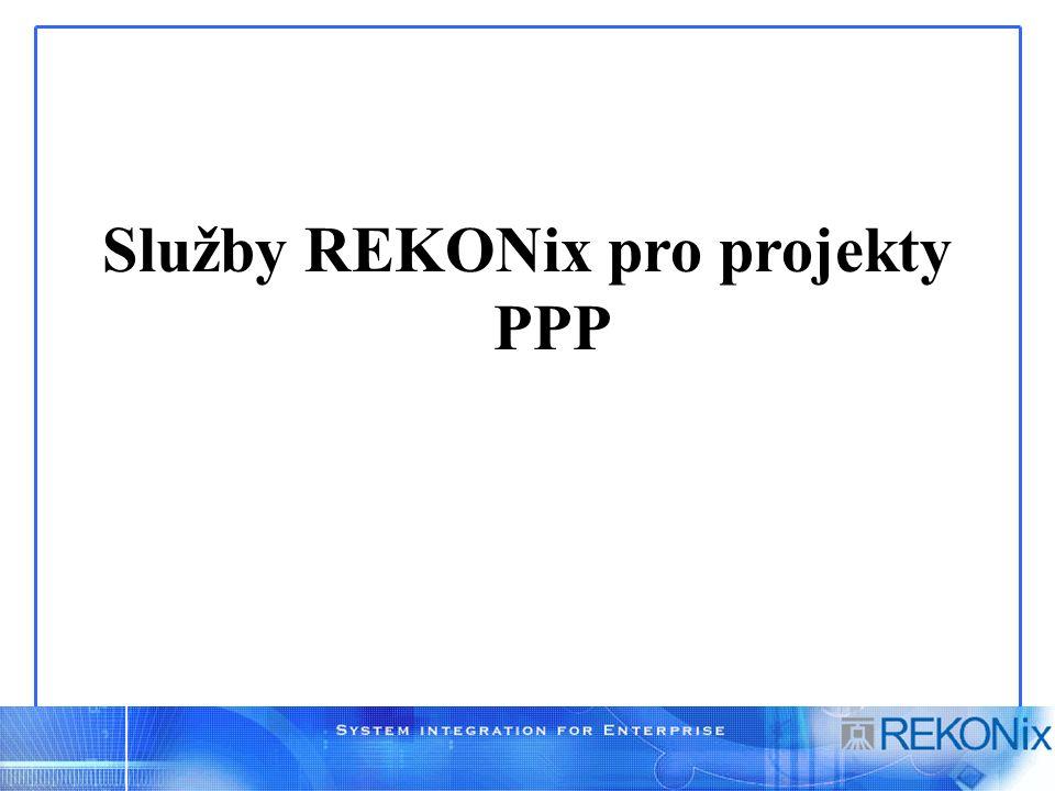 Služby REKONix pro projekty PPP