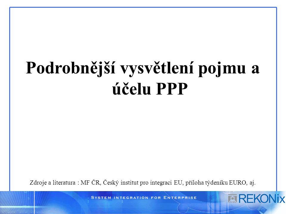 Požadavky partnerů PPP – II.