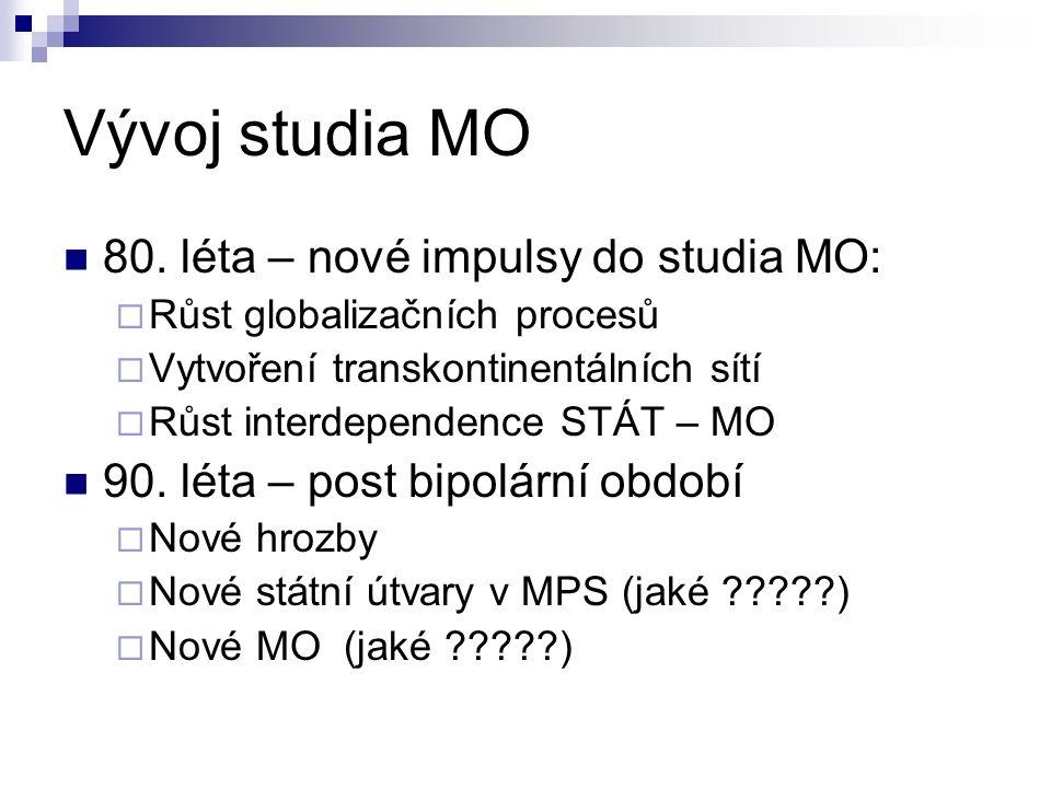 Vývoj studia MO 80.
