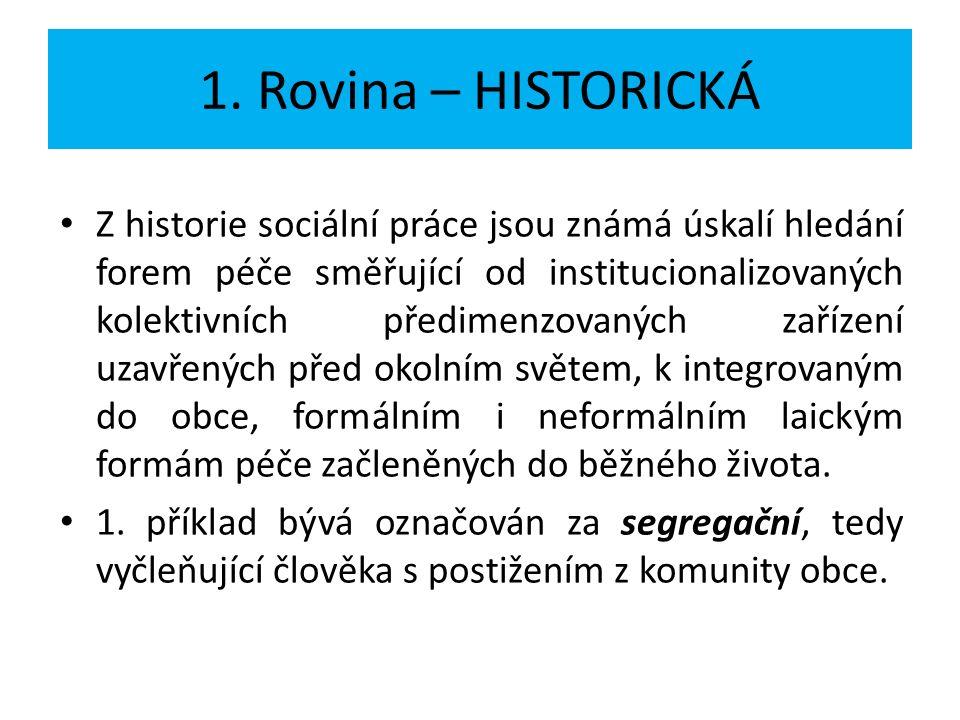 1.Rovina – HISTORICKÁ 2.