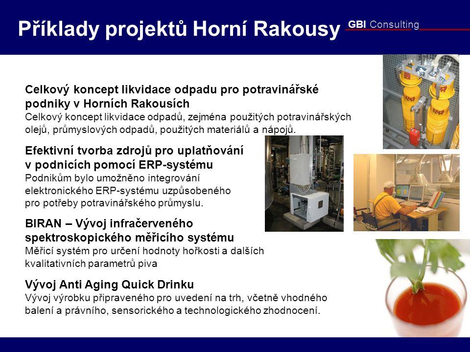 GBI Consulting Celkový koncept likvidace odpadu pro potravinářské podniky v Horních Rakousích Celkový koncept likvidace odpadů, zejména použitých potr