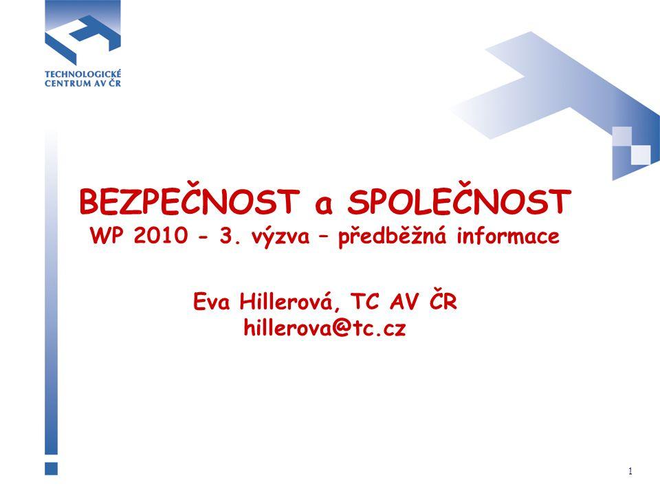 1 BEZPEČNOST a SPOLEČNOST WP 2010 - 3.