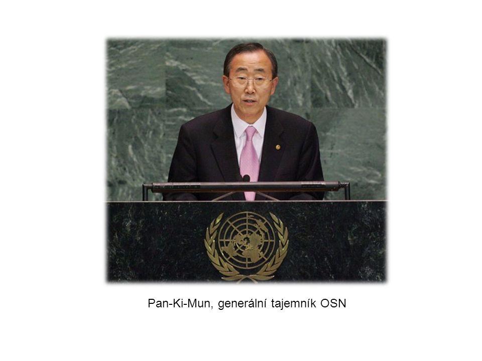 Pan-Ki-Mun, generální tajemník OSN