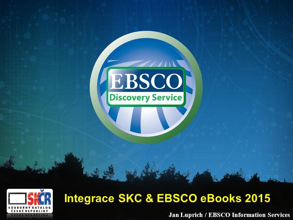 Vývoj EDS –léta vývoje –uvedení mimořádných technických řešení –hlavní investice do dalšího vývoje EDS (EBSCO navazuje partnerství se stávajícími producenty ILS – např.