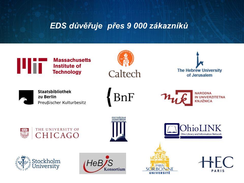 EDS důvěřuje přes 9 000 zákazníků