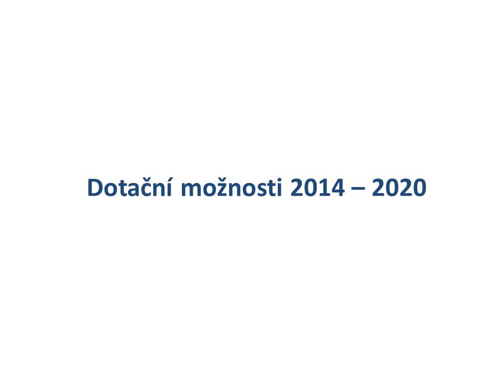 Dotační možnosti 2014 – 2020
