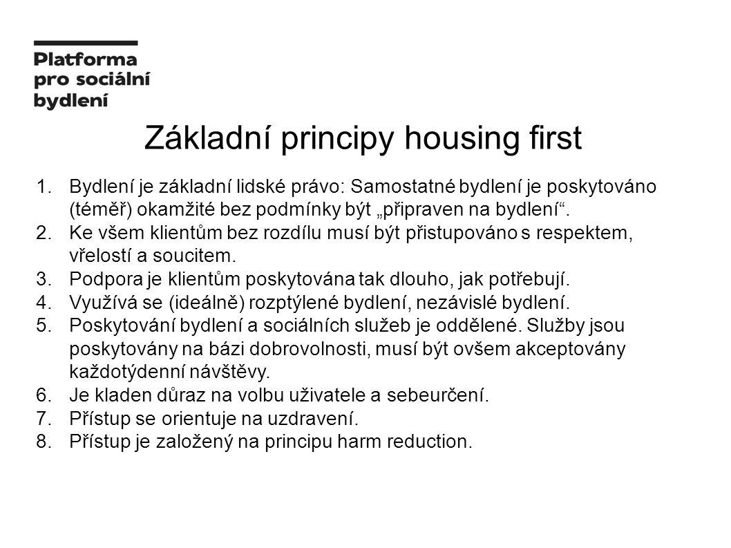 Základní principy housing first 1.