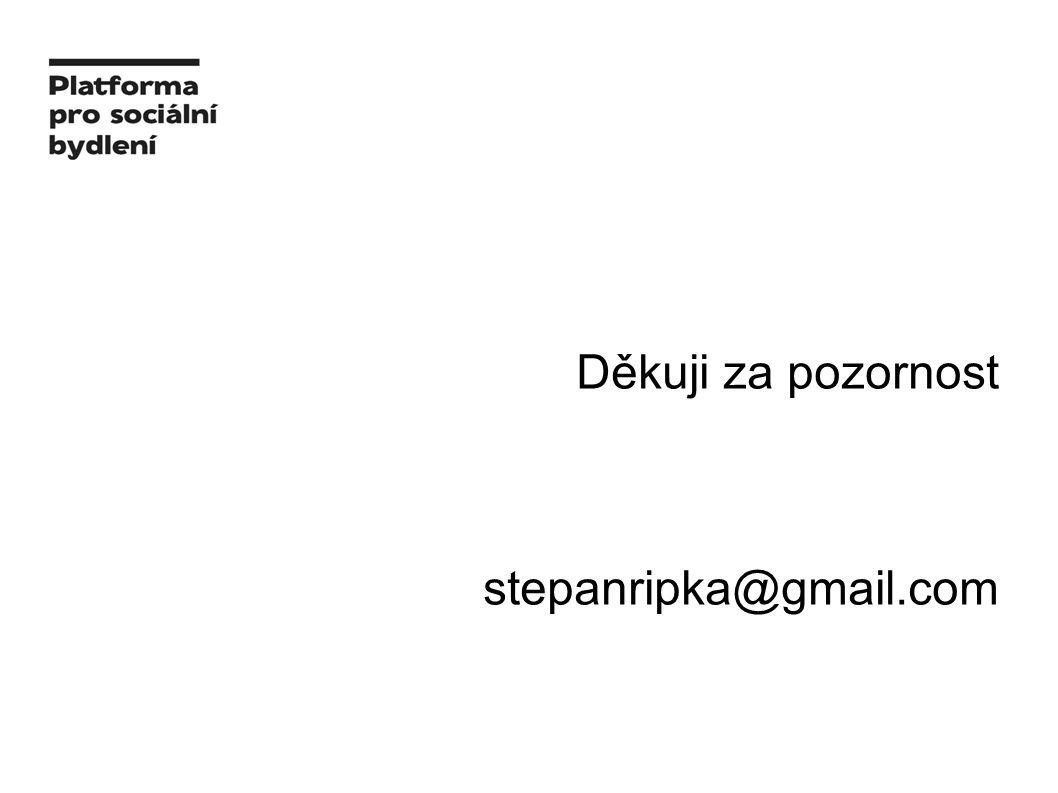 Děkuji za pozornost stepanripka@gmail.com
