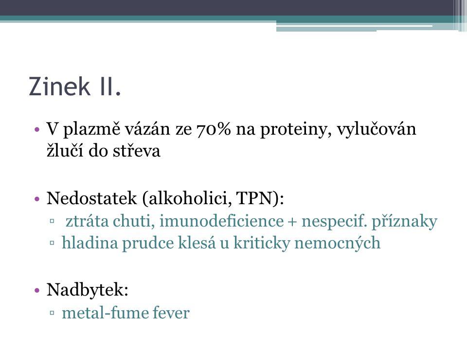 Zinek II.