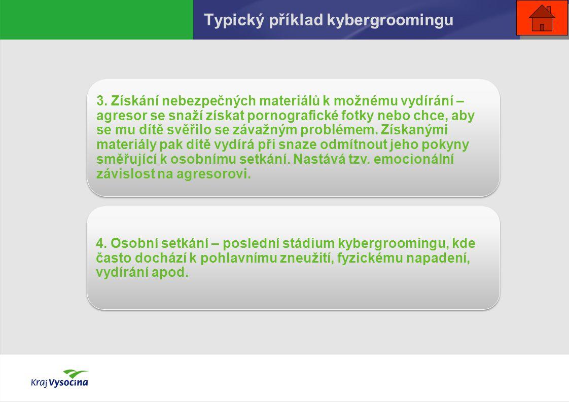 Typický příklad kybergroomingu 3.
