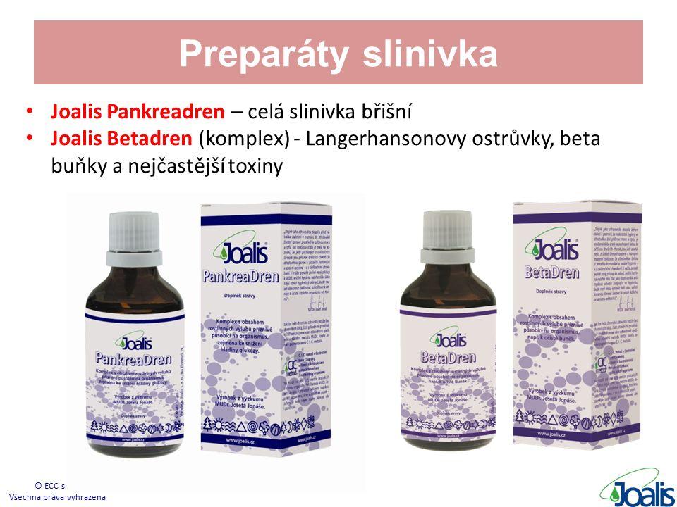 Preparáty slinivka Joalis Pankreadren – celá slinivka břišní Joalis Betadren (komplex) - Langerhansonovy ostrůvky, beta buňky a nejčastější toxiny © ECC s.r.o.