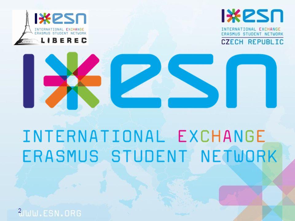 Co je Erasmus student network (ESN).3 založeno prvními 32 Erasmus studenty díky EU vznik 16.