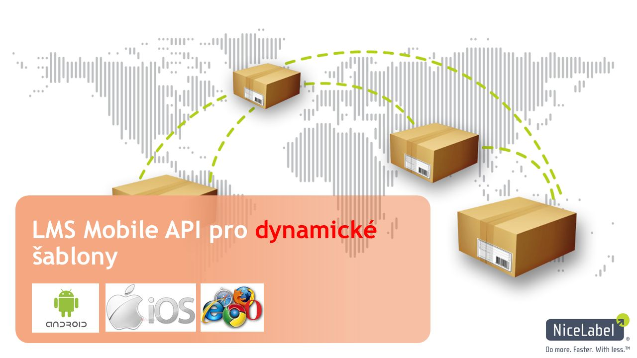 LMS Mobile API pro dynamické šablony