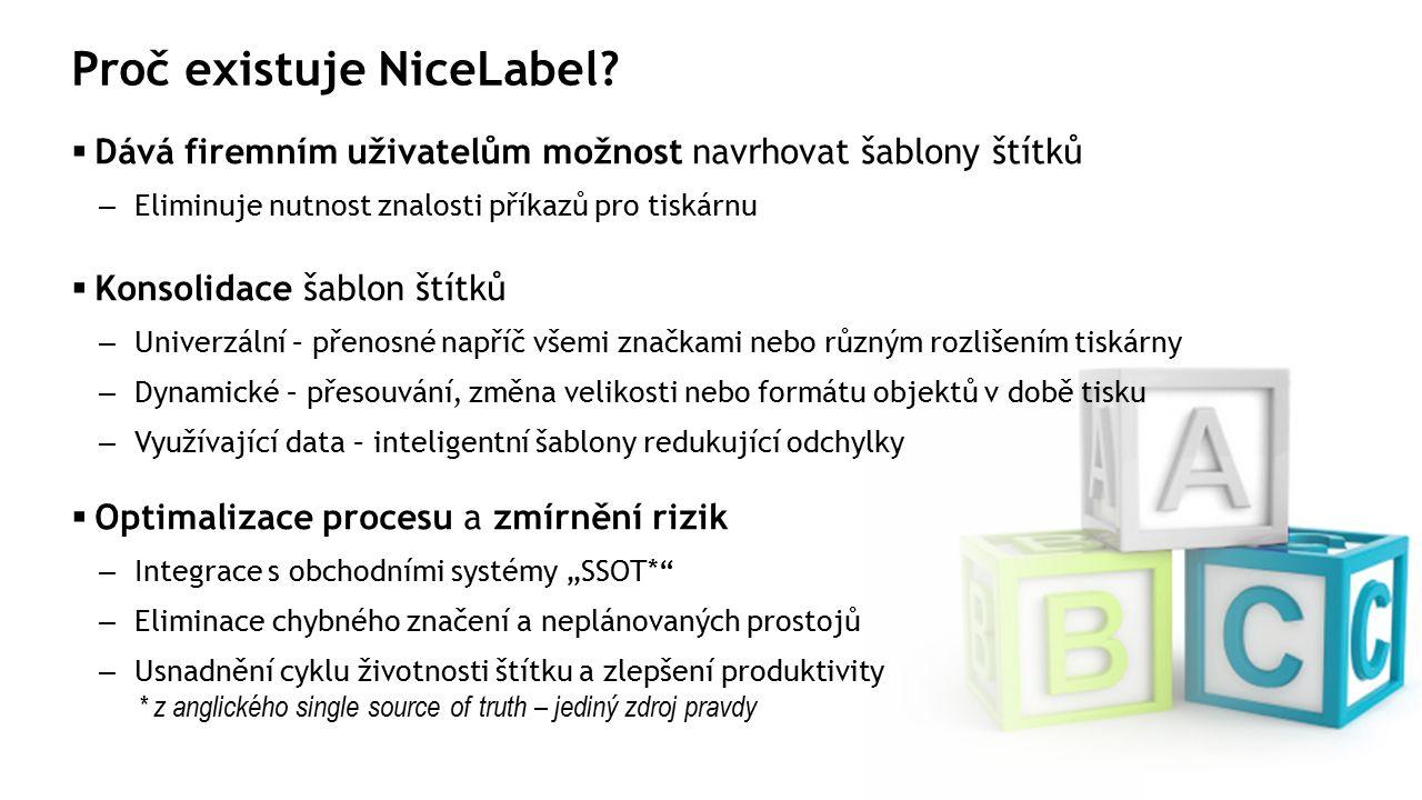 Proč existuje NiceLabel.