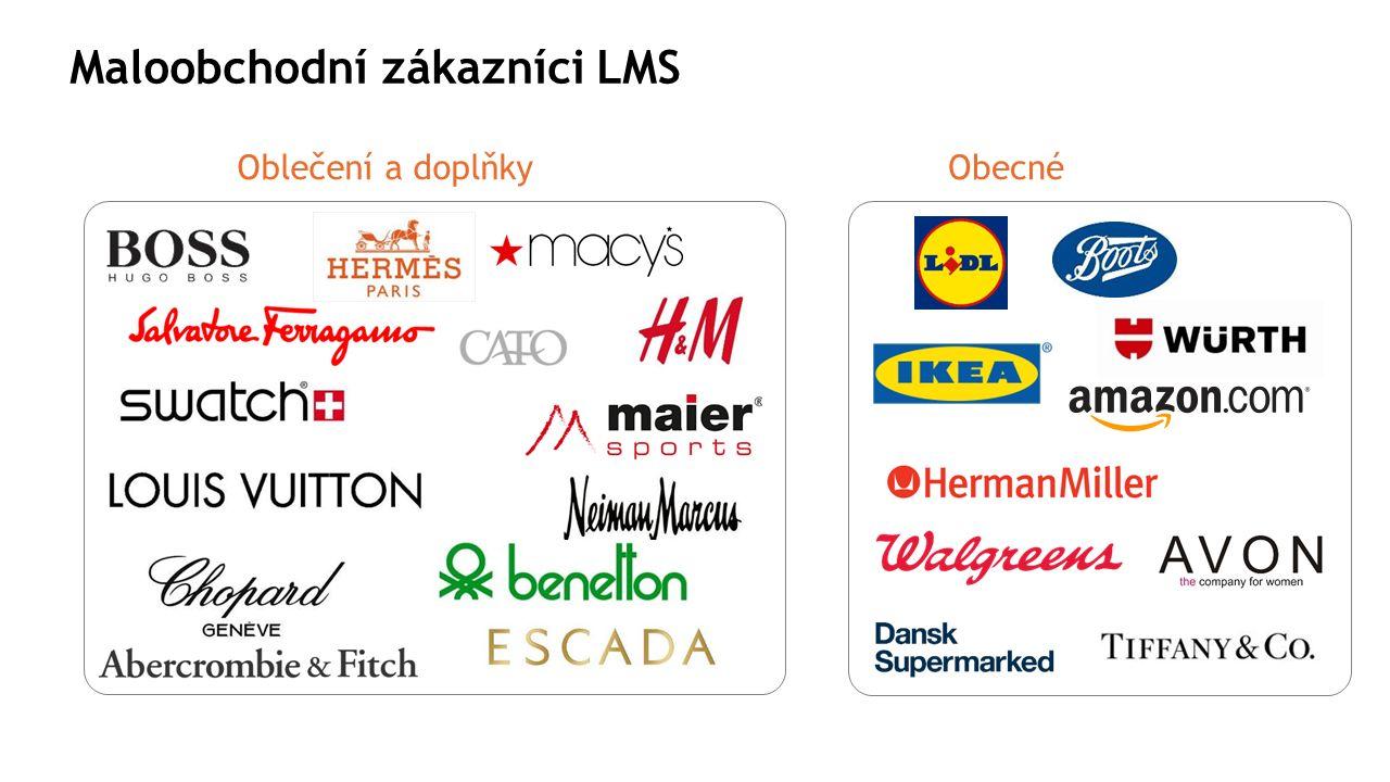 Maloobchodní zákazníci LMS Oblečení a doplňkyObecné