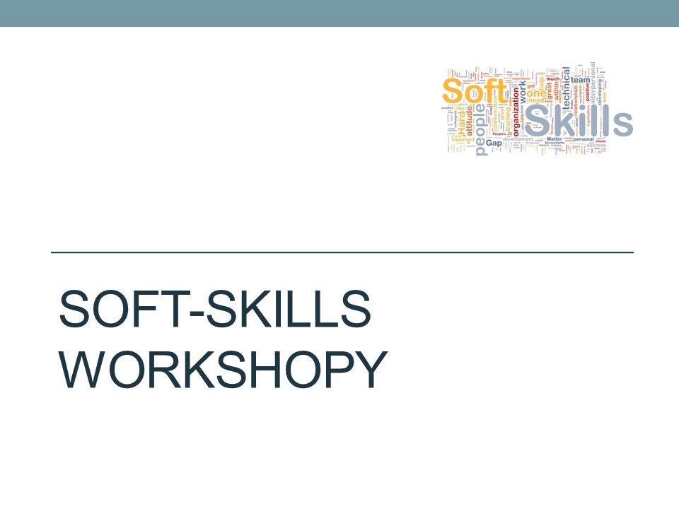 SOFT-SKILLS WORKSHOPY